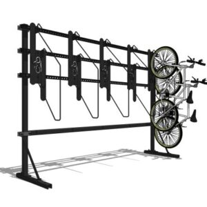 E21™ Single Side Vertical Bicycle Rack