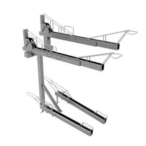 LA4 Double Deck Bike Rack