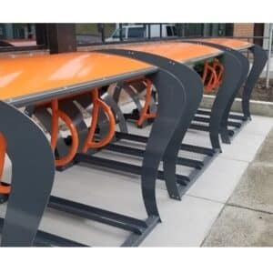 Shelter Bicycle Rack